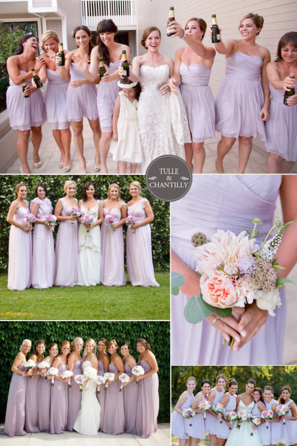 Top 10 wedding colors for spring 2015 captivating beauty for Spring wedding bridesmaid dress colors