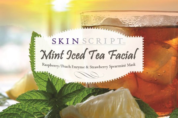 mint tea facial treatment