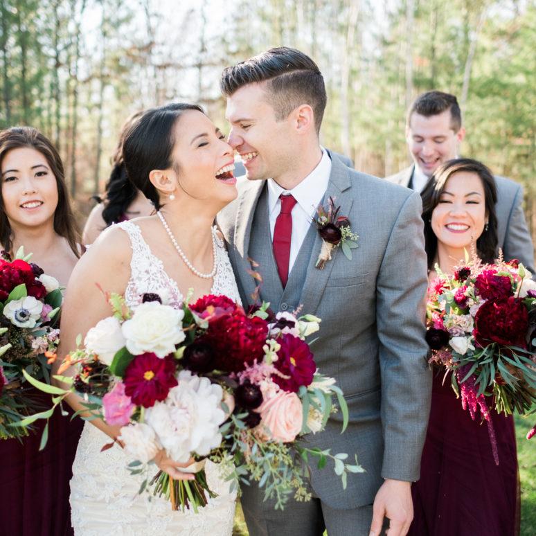 Fall Wedding in Brainerd with Tim Larsen Photography