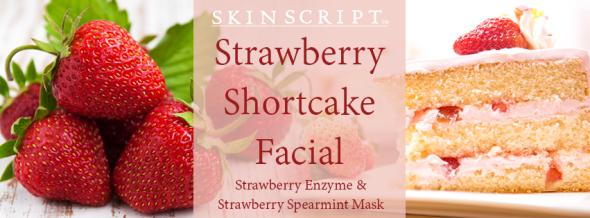 strawberry shortcake facial