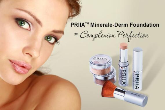 priia minerale derm foudation complexion perfection