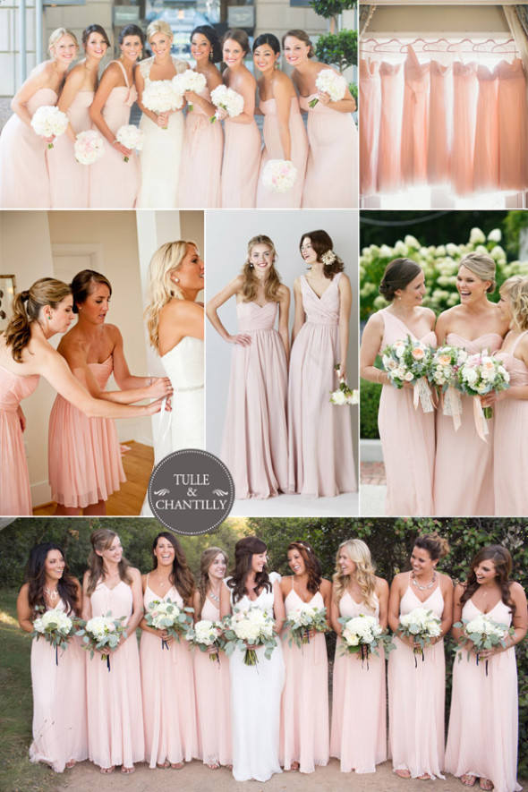 Blush-Bridesmaid-Dresses-for-Spring-Summer-Wedding-Ideas-2015