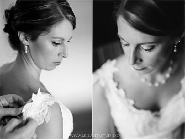 bride upclose