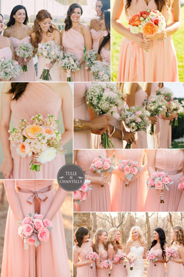 rose-pink-bridesmaid-dresses-spring-2015-inspiration