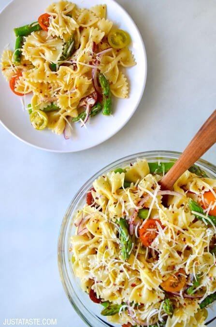 asparagus-pasta-salad-italian-dressing-recipe