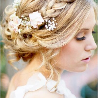 Brainerd Wedding Hair – Up vs Down Style