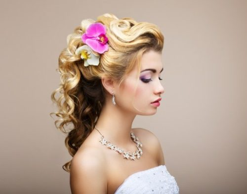Brainerd Lakes Wedding Day Hair – Natural or Colored?