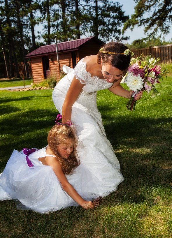 Braiinerd Lakes Wedding Day Hair & Airbrush Makeup
