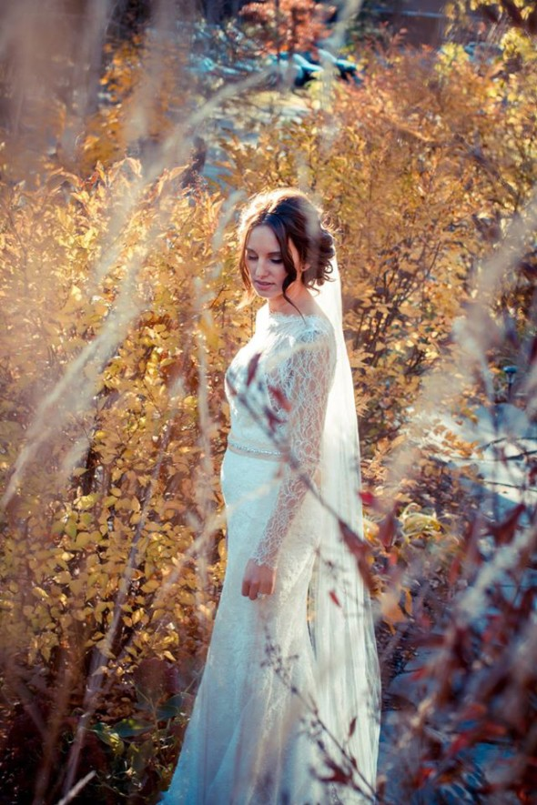 Beautiful Bride at Grandview Lodge with Captivating-Beauty