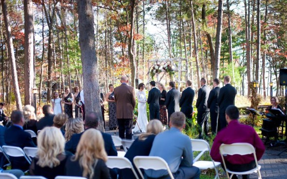 Fall Wedding at Grandview Lodge in Nisswa MN