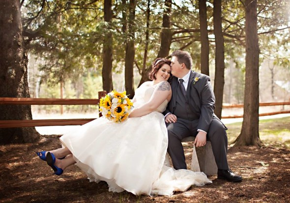 wedding at pinepeaks event center with captivating beauty