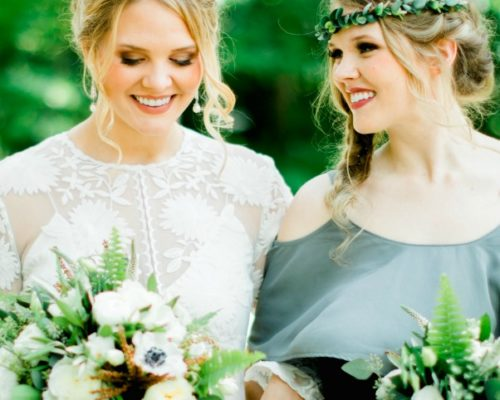 Itasca State Park Wedding with Traveling Wedding Hair & Makeup Team