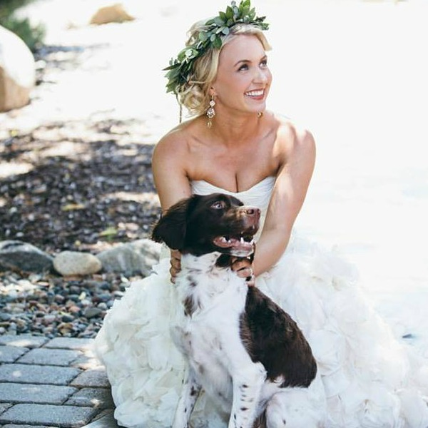 On Site Bridal Airbrush Makeup at Pine Peaks Event Center