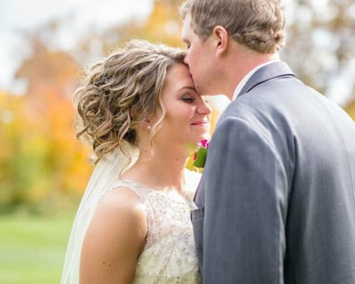 Natural Bridal Makeup in Sartell MN