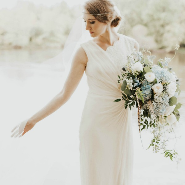 Bridal Hair & Airbrush Makeup at Linden Hill in Little Falls