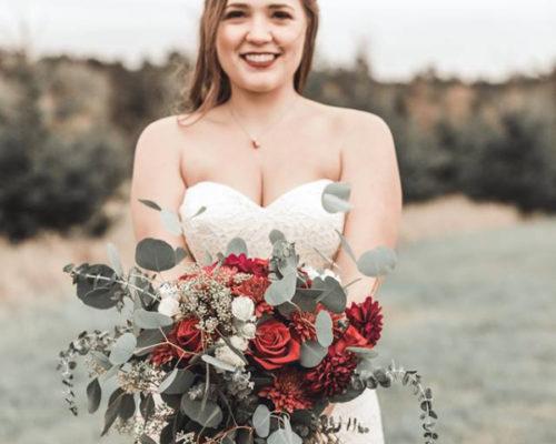 Bridal Hair & Airbrush Makeup at Pine Peaks Event Center